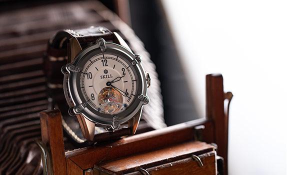 Histoire des montres Skill
